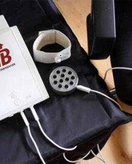 Conexión del Bionic con pacientes, nosodes o pruebas energéticas.