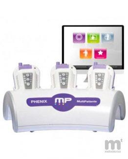 Electroestimulador capaz de tratar a varios pacientes a la vez en lugares diferentes