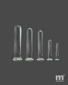 Dilatadores vaginales de pyrex