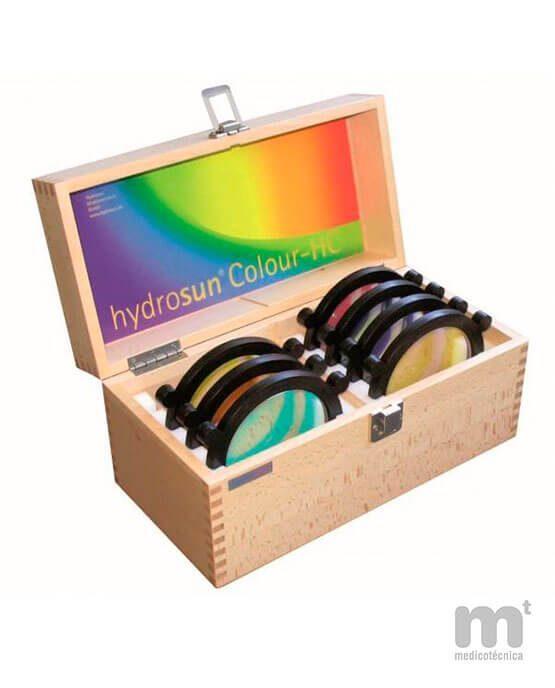 Filtros de color HC7 para cromoterapia Hydrosun