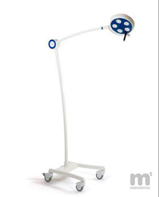 Lámpara de reconocimiento médico luz fría.