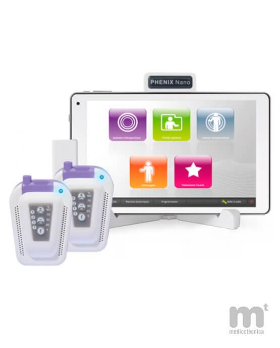 Dispositivo portátil para electroestimulación multipaciente