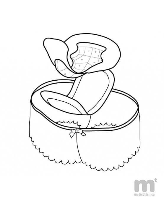 Cómo colocar la coquilla femenina claricare