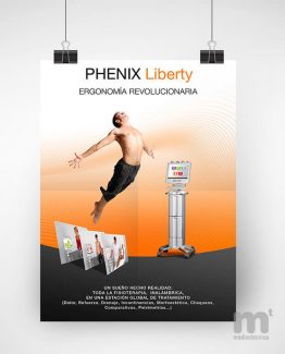 Póster anuncio Phenix Liberty