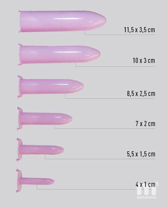 Dilatadores vaginales progresivos