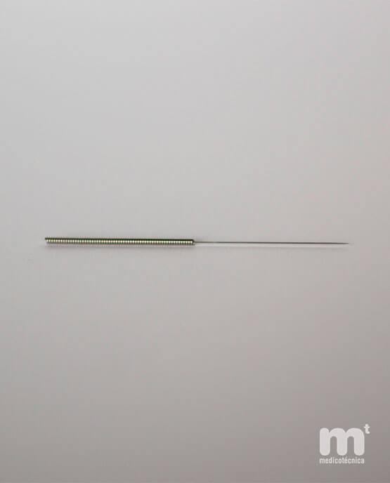 Caja de 100 agujas de acupuntura esterilizadas